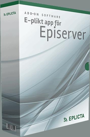 E-plikt app Episerver