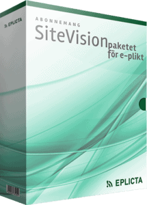 Abonnemang SiteVision-paketet för e-plikt