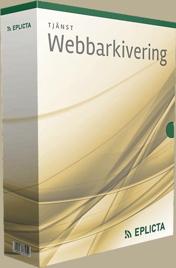 Webbarkivering