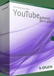 Abonnemang YouTube-paketet för e-plikt